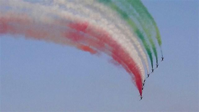 Frecce Tricolore airshow